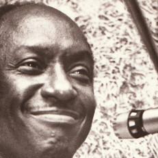 Erik Lindahlin valokuva bluesmuusikko Eddie Boydista vuodelta 1978