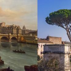 Kuva keskiaikaisesta Pariisista sekä Roomasta