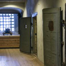 Turun linnan vankilakäytävä