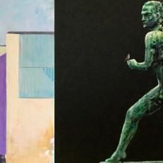 Jorge Vegan maalaukset Turun pääkirjastosta ja Paavo Nurmen patsaasta