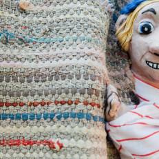 Viisas Matti ja muita juttuja nukkeatteriesityshahmo